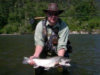 fly fishing, vancouver, trout
